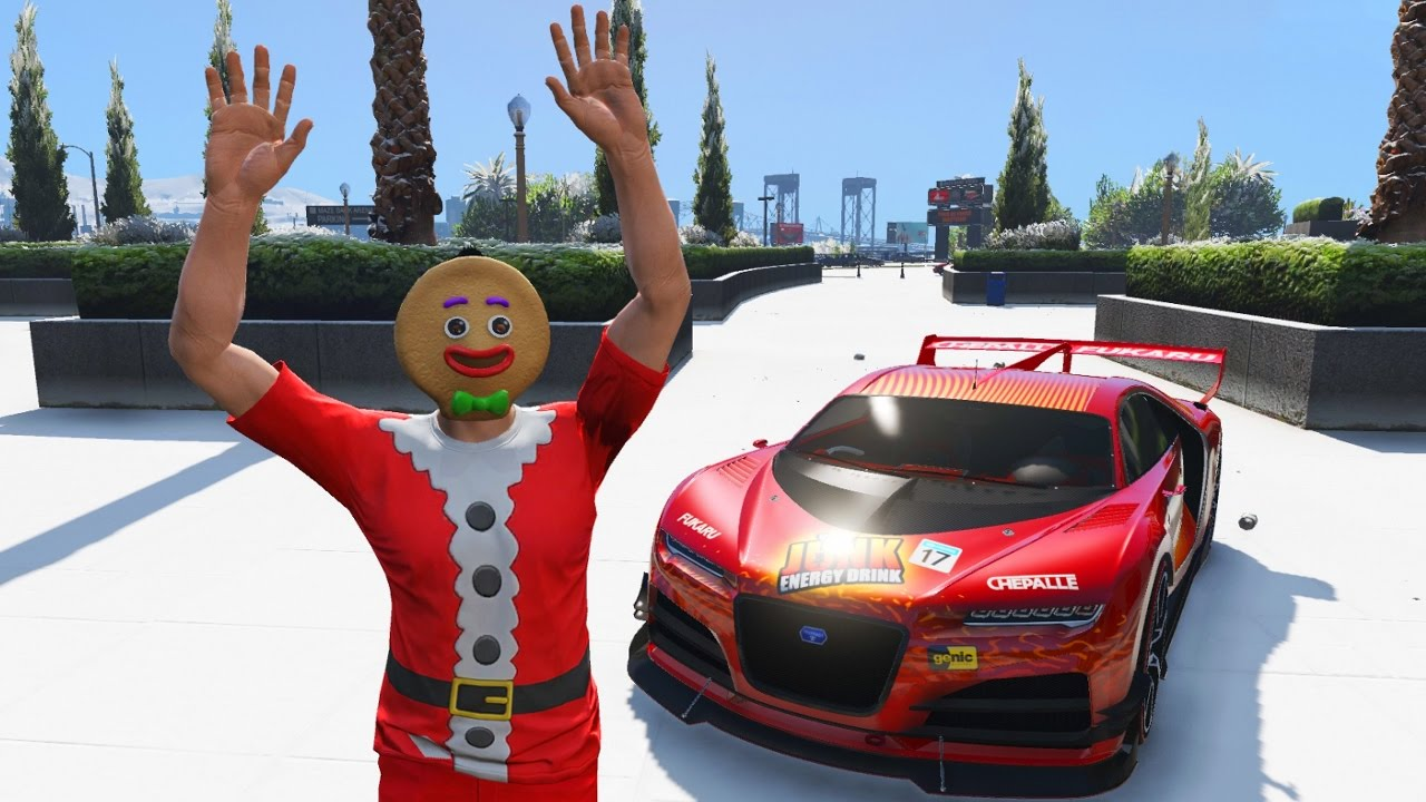 GTA 5 CHRISTMAS UPDATE - SNOW, NEW CAR, NEW CHRISTMAS CLOTHING ...