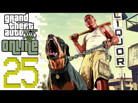 Let's Play GTA V Online PC (GTA 5) - EP25 - The Getaway!