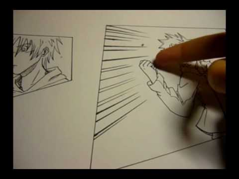 Line Art Effect Photo : How to draw manga effect without a computer youtube