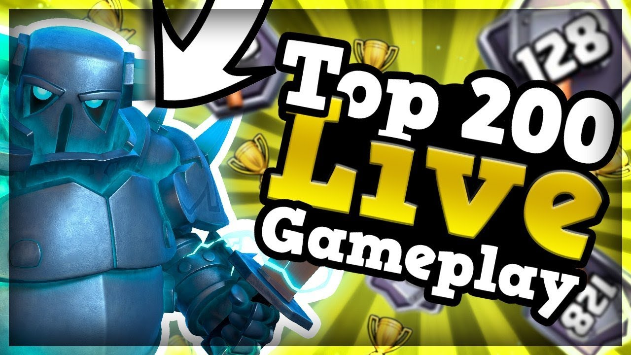 TOP 200 PUSH l PEKKA + HOG l Clash Royale