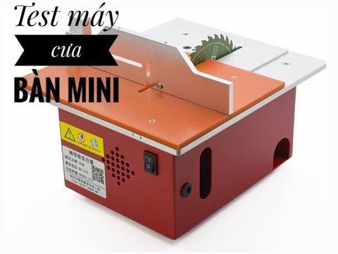 Máy cửa bàn mini 895 – 368w siêu khỏe – Nâng hạ lưỡi cưa