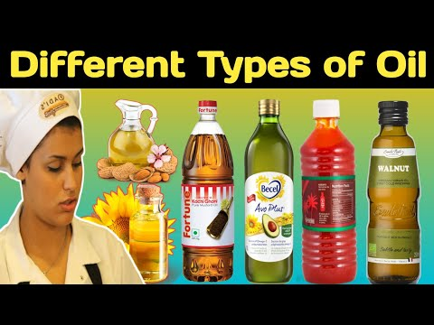 Cooking oil name | Types of oil | Best cooking oil | Oil name list