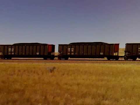 Train Union Pacific South Dakota Coal
