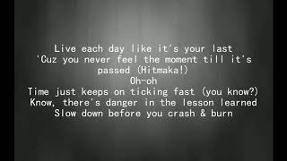 G-Eazy - Crash and Burn Lyric Video Ft. Kehlani