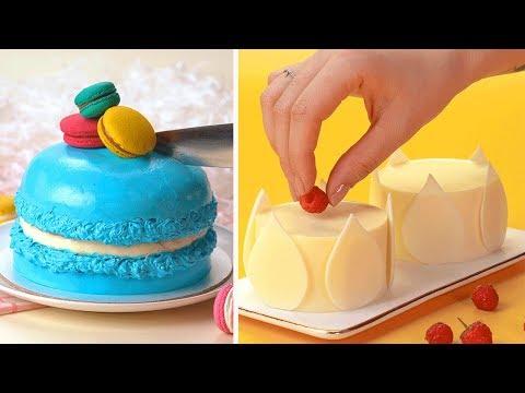 How To Make Cake Decorating   Satisfying Rainbow Cake Compilation   DIY Cake Hacks   Tasty Plus Cake