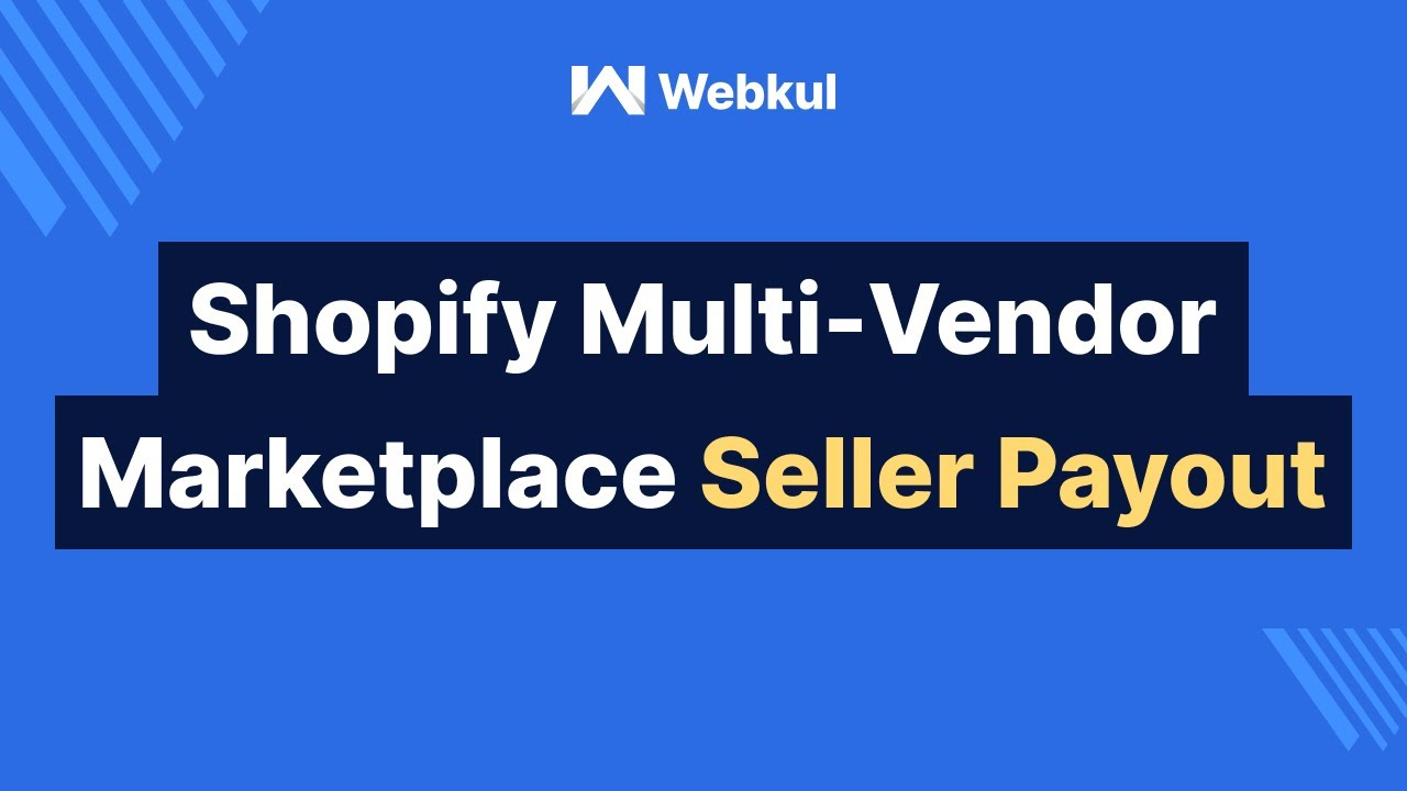 Multi vendor Marketplace for Shopify: Admin Pays to Seller
