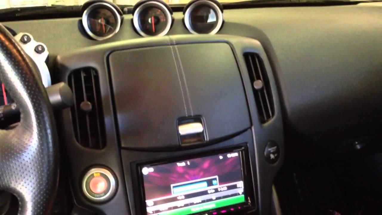 Nissan 370z Motorized Amp Rack Subwoofer Enclosure Hertz