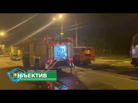 Телеканал Simon: В Харькове горели 300 квадратов нежилых помещений