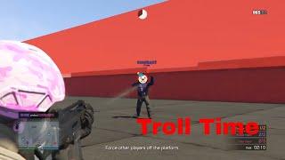 GTAonline - More Trap Door Troll Time