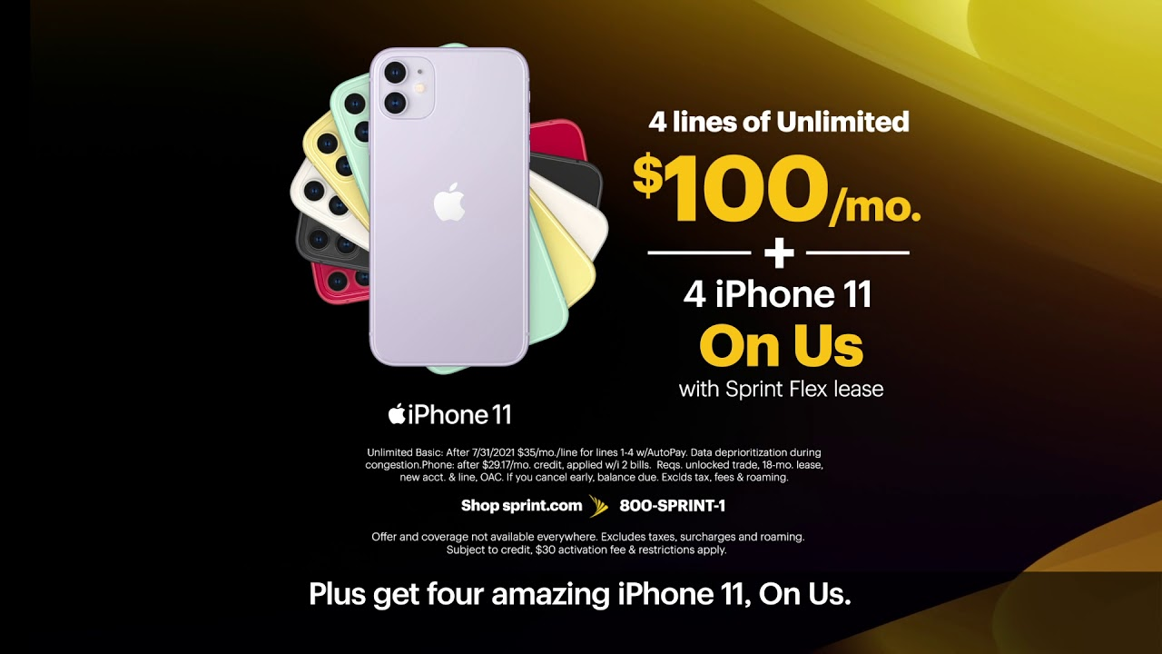 Our Best Unlimited Deal 4 Lines Of Unlimited For Just 100 Mo Youtube