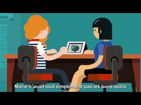 Marie et la solution Recrut'live de Randstad