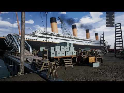 Unreal Engine 4 Full scale TITANIC Demo 3 - I7 8700k - RX VEGA 64