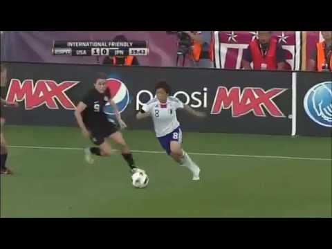 Becky Sauerbrunn: Touches & Positioning vs JPN 5/18/2011