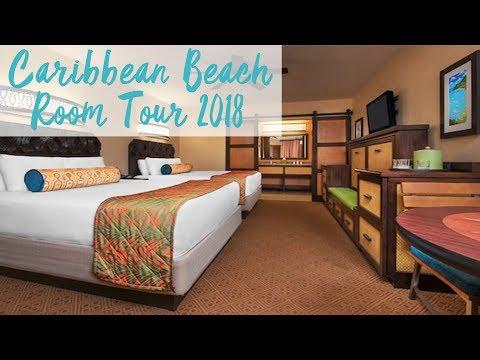 Disney's Caribbean Beach Resort Room Tour | Walt Disney World