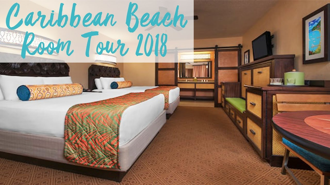 Disney S Caribbean Beach Resort Room Tour Walt World