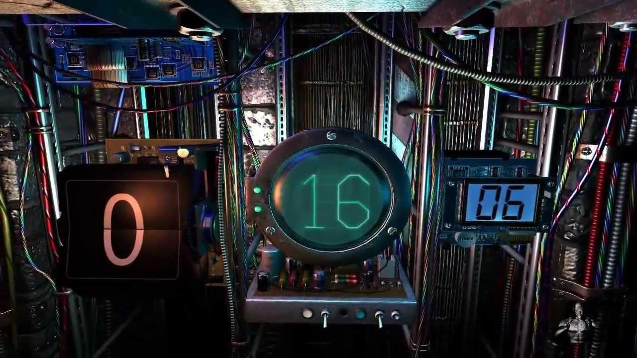 3d Digital Clock Wallpaper 17 Screensavers Para Pc En 3d Y De Alta Definici 243 N Youtube