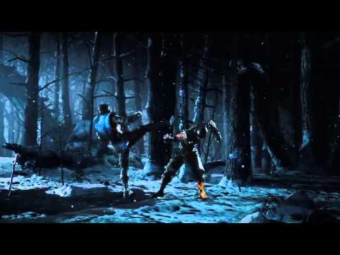 Mortal Kombat X Trailer With MK Theme Song (1080p)