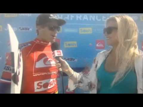 Pro surfer Sebastian Zietz speaking Pidgin