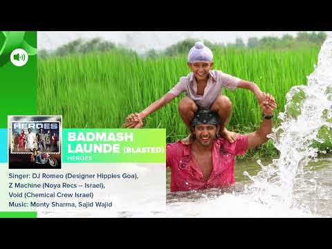 Badmash Launde Blasted   Audio Song   Heroes   Salman Khan, Sunny Deol, Bobby Deol & Preity Zinta 2
