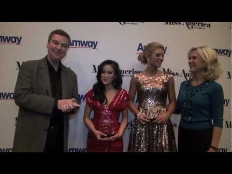 2013 Miss America Competition - Preliminary Night 1 Winners Travel Video