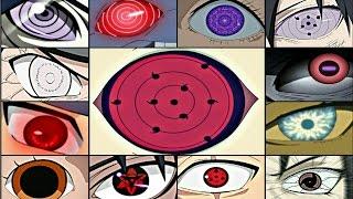 Naruto:Top 30 Strongest Eyes (Naruto Shippuden,Naruto The Last,Boruto Movie,Boruto Manga)