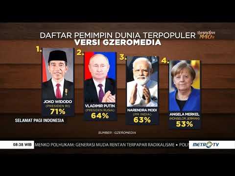 Jokowi Jadi Presiden Terpopuler Di Dunia!