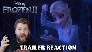 Frozen 2 Trailer 2 Reaction
