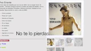 Canelita - Nueva Web disponible muy pronto...   www.Canelita.org