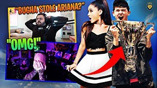 BUGHA STEALING ARIANA GRANDE?! WE CARRY TIM LIKE ALWAYS! (Fortnite: Battle Royale)