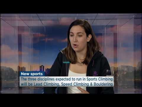 Sport Climbing's Inclusion in Tokyo 2020 Olympics - Emma Horan - ABC News 24 Weekend Breakfast