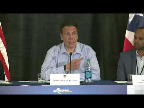 Governor Cuomo Makes an Announcement in Puerto Rico
