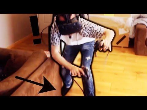 BIM LE DOIGT DE PIED ! (HTC Vive)