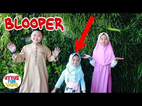 Bloopers Almara Feat Uyyus Lagu Anak Religi Sholawat Badar