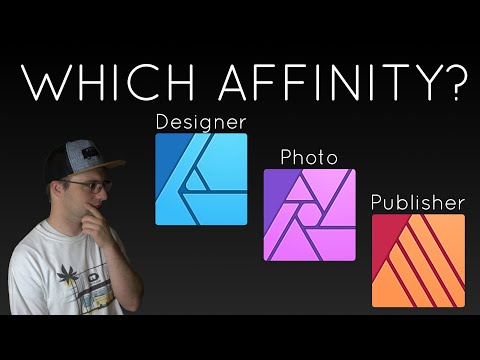 Affinity Designer vs Affinity Photo vs Affinity Publisher, Which is right for you?