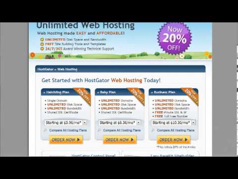 How to Register Domain and Get Web Hosting | Internet Network Marketing