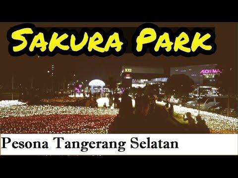 aeon-mall-bsd-||-led-sakura-illumination-park-1