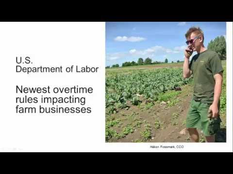 2016 New Labor Law and Farming
