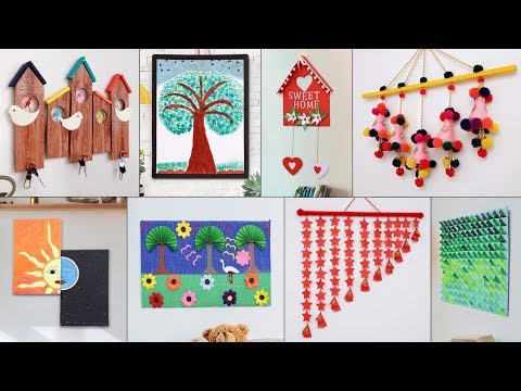 11 Wall Decor DIY For Your Home !!! Paper Craft, Cardboard Craft Ideas
