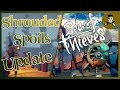 Sea of Thieves: Patchnotes SHROUDED SPOILS / Kanonenskins / Nebel / Neue Skelettschiffe und Forts!