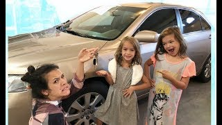 Little Girls & INSTAGRAM control our vacation day! MOM can't Say NO for 24 hours!