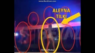 Aleyna Tilki yarı çıplak eşcinsel barda
