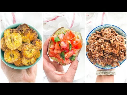 5 Easy Healthy Snacks You'll LOVE | paleo recipes
