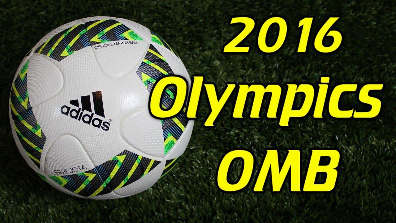 Adidas Errejota 2016 Olympics Match Ball Review - YouTube 2eeb5708482ff