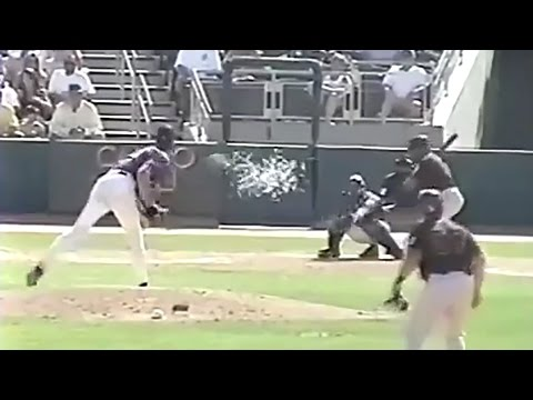 Hall Of Famer Randy Johnson Kills Bird In Game