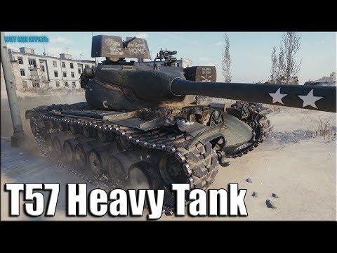 Три отметки, 12к урона T57 Heavy Tank ✅ World of Tanks лучший бой