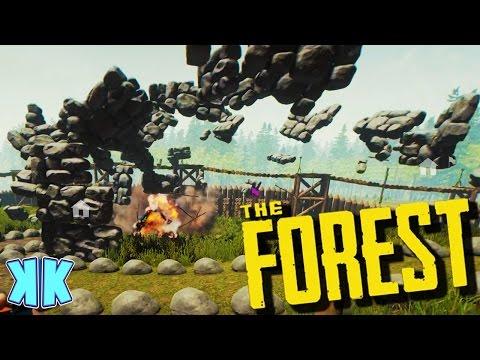 The Forest | DEMOLITION! | Update 0.47 Gameplay | #42
