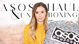 ASOS HAUL UNBOXING & TRY ON | SPRING SUMMER 2017  | Hello October