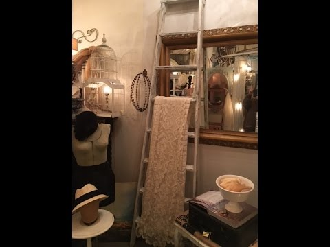DIY  Project Display quilts, linens, and blankets on upcycled  wood blanket ladder
