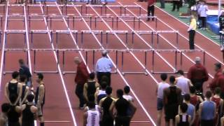 2014 NJ Bergen County Relays Armory Moment of Silence for Madison Holleran
