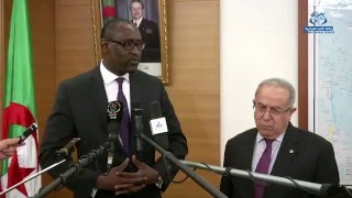 لعمامرة : ضرورة تسريع وتيرة تطبيق اتفاق السلم والمصالحة في مالي